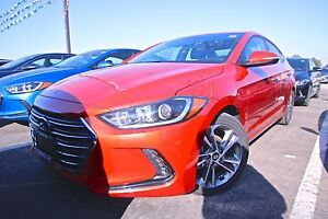 2017 Hyundai Elantra LIMITED, NAVI, LEATHER, SUNROOF, REARVIEW C