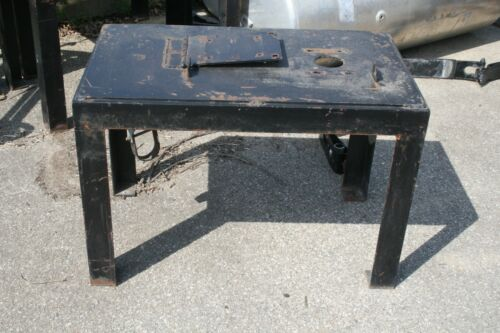 "Steel Equipment Table 36"" x 21 1/2"" x 24"""