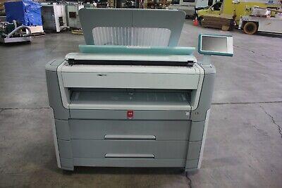 Oce Plotwave 500 Wide Format Plotter Printer Scanner