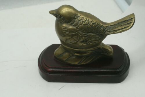 Vintage Brass Sparrow Bird Bottle Opener Figurine