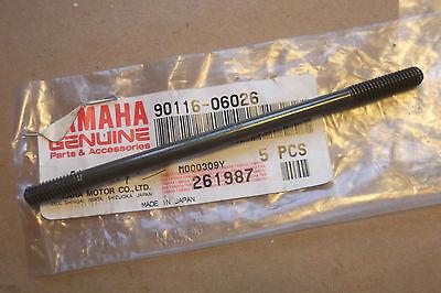 <em>YAMAHA</em> DT80  GT80  GTMX  RD60  MX80  GENUINE NOS CYLINDER STUD    901