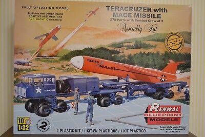 Renwal / Revell   Teracruzer with Mace Missile   1:32    NEU&OVP
