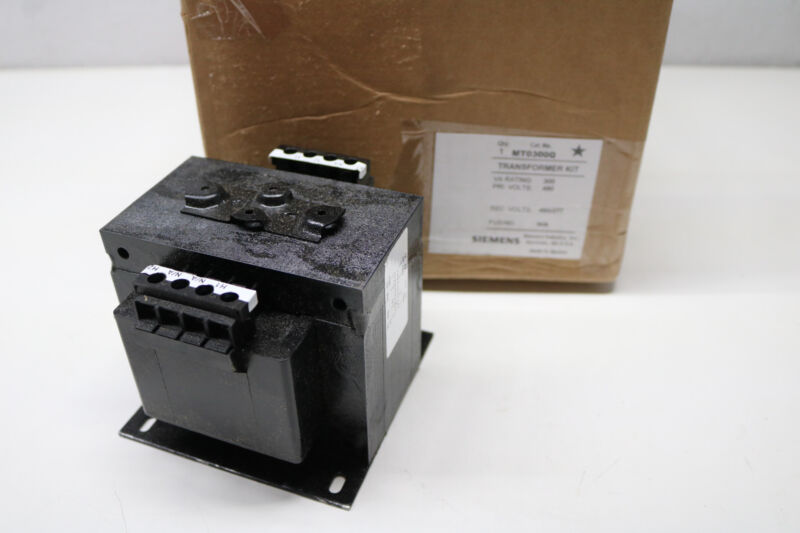 Siemens MT0300Q Control Transformer Kit 300VA 480-480V 277V 480/277V