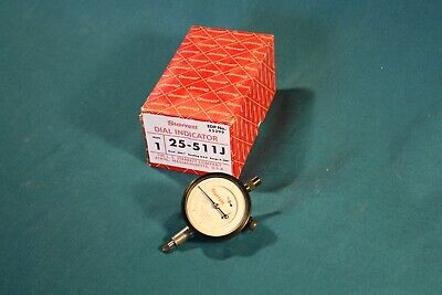 Starrett 25-511j Indicator - 0-.200 Range 0-5-0 Balanced Dial .0001 Grads