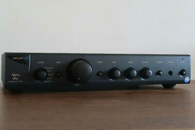 ARCAM ALPHA ONE AMPLIFIER A MADE IN ENGLAND VINTAGE WORKING AUDIOPHILE CLASSIC