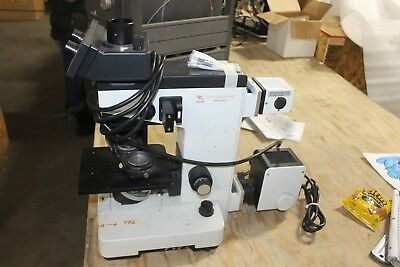 Leitz Fluovert Inverted Fluorescence Microscope