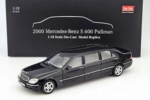 MERCEDES-BENZ-PULLMAN-CLASSE-S-anno-di-costruzione-2000-NERO-1-18-SUNSTAR
