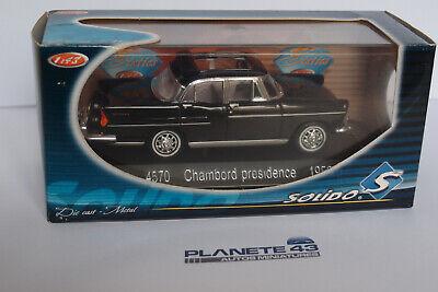 SOLIDO 4570 SIMCA CHAMBORD PRESIDENCE 1958 1:43
