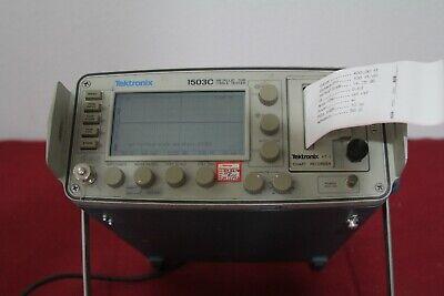 Tektronix 1503c Metalic Time Domain Reflectometer Tdr With Printer