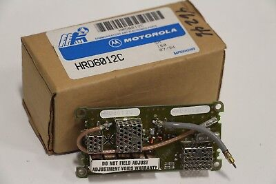 New Motorola Hrd6012c Preselector
