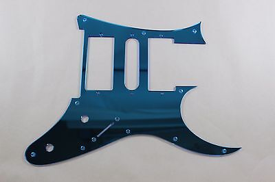 Blue Mirror Pickguard Fits Ibanez (tm) Universe UV UV777 7 String- HSH for sale  Shipping to Canada