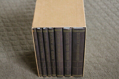 McGuffey's Original Eclectic Readers 7 Volume HC Set  Nonfiction Reading Comprehension Set