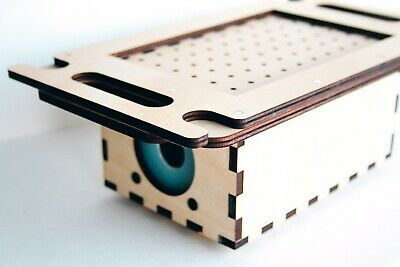 Desktop Vacuum Former Mini Plastic Forming Machine Formbox Thermoforming A5