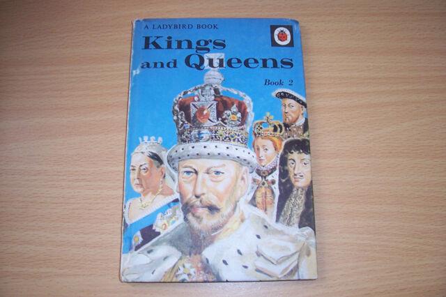 LADYBIRD BOOK KINGS AND QUEENS BOOK 2  2/6 NET