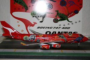 JC Wings 1:200 Qantas Boeing 747-400 VH-OJB 'Wunala Dreaming I' (XX2922)