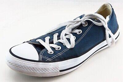 Converse All Star  Fashion Sneakers Blue Fabric Women8Medium (B, M)