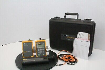 Fluke Ftk200 Ft120 Fs150 Fiber Viewer Source Meter Kit A Grade - Free Shipping