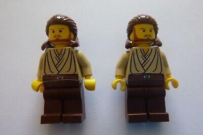 Lego Star Wars - Qui-Gon Jinn minifigures SW027 x 2