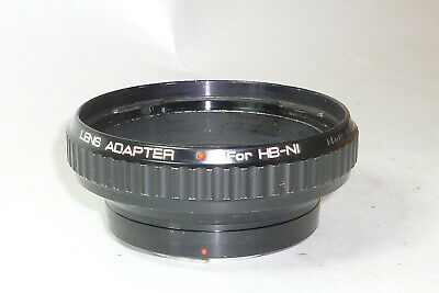 Metal Lens Adapter Hasselblad to Nikon made in Japan *