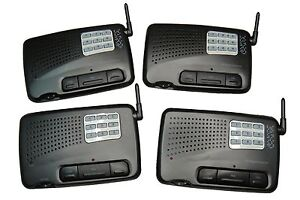 110V-240V-4-Units-9-Channel-Walkie-Talkie-Wireless-Office-Home-Factory-Intercom