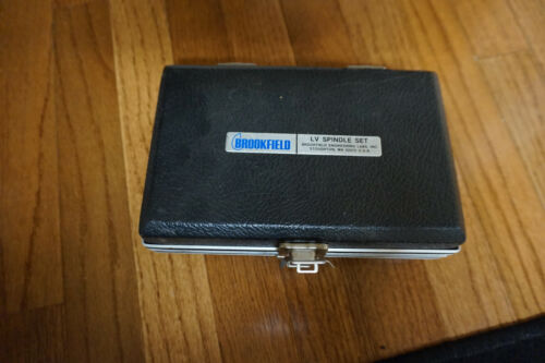 Brookfield Viscometer LV Spindle Set with Case engeneering