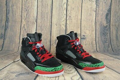 the latest ae670 ee615 Air Jordan Men s Spizike OG Black Green White Varsity Red 315371-026 Size  11 NEW