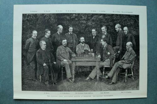 L1d%29+Holzstich+Herford+UK+1885+Schach+Chess+Master+Tournament+Personen+26%2C5x15cm