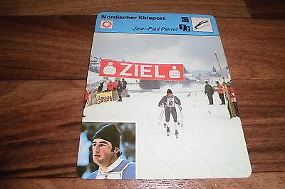 JEAN-PAUL PIERRAT / Nordischer Skisport -- Editions Rencontre S.A. Lausanne 1977