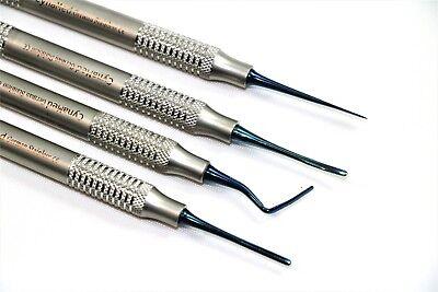 Premium 4 Ea Dental Periotomes Periotome Pdl Ligament Periodontal Kit