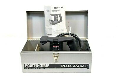 Porter Cable 556 Plate Joiner Type 4. 120v 5a 8000rpm For 0 10 20 Biscuits
