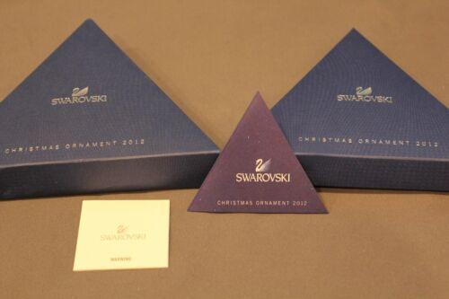 Swarovski 2012 Annual Edition Ornament Empty Presentation Box Only 1125019