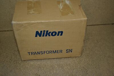 Jm Nikon Transformer Model Sn - New Jq115