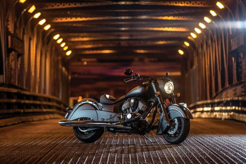 Cool Motorcycle in tunnel Poster 24x36 inch