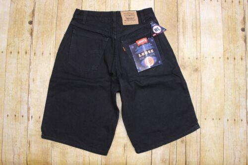 NWT Vintage Levis 560 loose fit orange tab denim shorts high rise student 27
