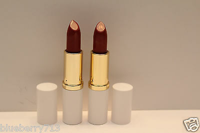 New! 2 x  Estee Lauder  Lipstick Pure Color 17 Rose Tea Creme - Full Size