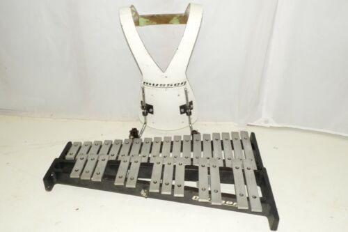 Musser M65 Marching Percussion Bells with Harness 2.5 Octaves G-C
