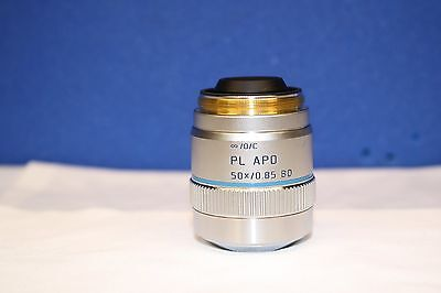 High Quality Leica 566013 Pl Apo 50 0.85 Bd Microscope Objective