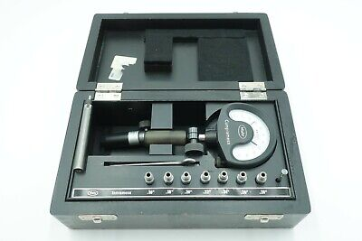 Mahr Compramess Bore Gauge .16 - .28 Split Ball Type With Extras Germany