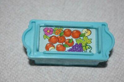 Fisher Price Little People Blue Food Crate for Disney Princess Klip Klop