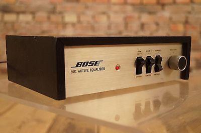 VINTAGE HiFi Rarität BOSE 901 Series II Active Equalizer Lautsprecher Steuerung