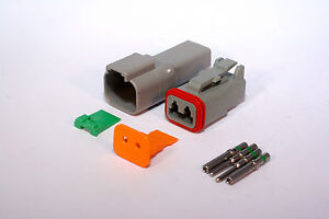 DEUTSCH DT SERIES 2 WAY CONNECTOR KIT