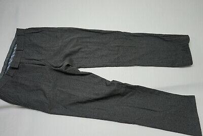Brax Earl Men's Luxury Trousers Cashmere Chinos Silver 34/32 Gr.50 W34 L32 Grey