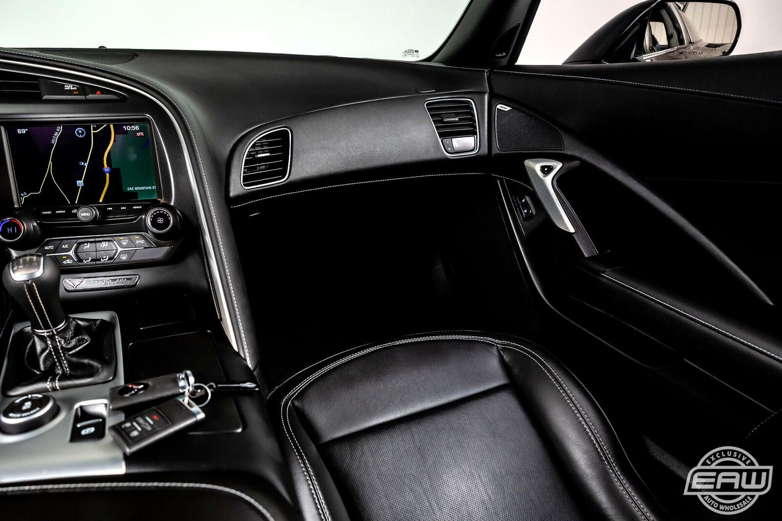 2014 Black Chevrolet Corvette Coupe 1LT | C7 Corvette Photo 8