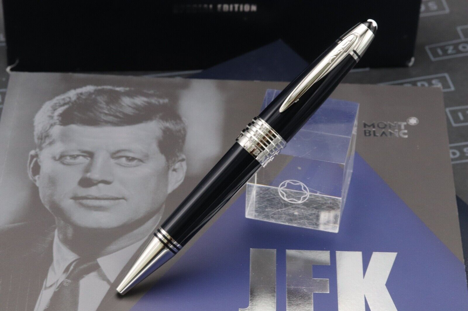 Montblanc Great Characters JFK Blue Special Edition Ballpoint Pen 1
