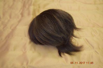 Crobi Doll 8-9 inch BJD Wig Dark Brown