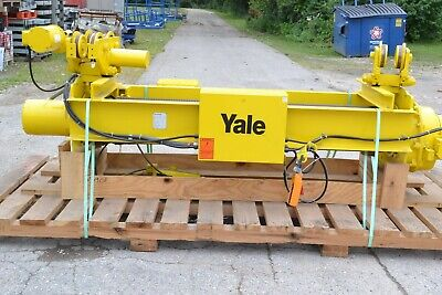 New Yale Dew3 Electric Hoist Overhead Crane 3 Ton Hoist With Power Trolley