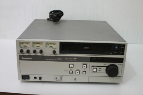 Vintage Panasonic AG-7510 Video Cassette Player HI-FI Audio Professional Grade