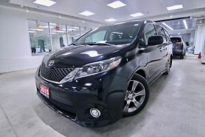 2015 Toyota Sienna  SE,ORIGINAL RHT VEHICLE,  ONE OWNER, CLEAN C
