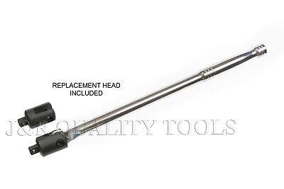 "Breaker Bar   3/8"" Drive x 15"" inch Long Swivel Head Socket Wrench Bar CR-V"