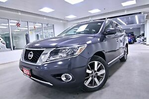 2014 Nissan Pathfinder PLATINUM, ONE OWNER CLEAN CARPROOF, NON S